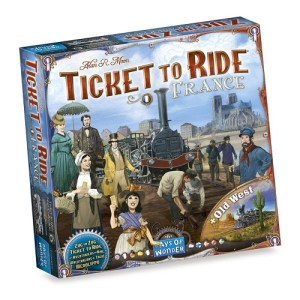 Ticket to Ride: Map Collection 6 – France & Old West