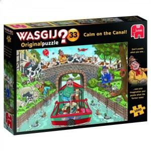 Wasgij Original 33: Kalm op Het Kanaal! (1000)
