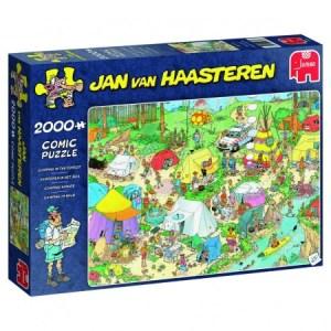 Kamperen in het Bos - Jan van Haasteren (2000)