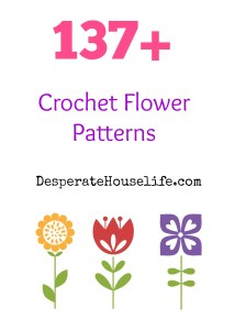 Free Crochet Flowers Patterns Roundup {100+ and Counting!}