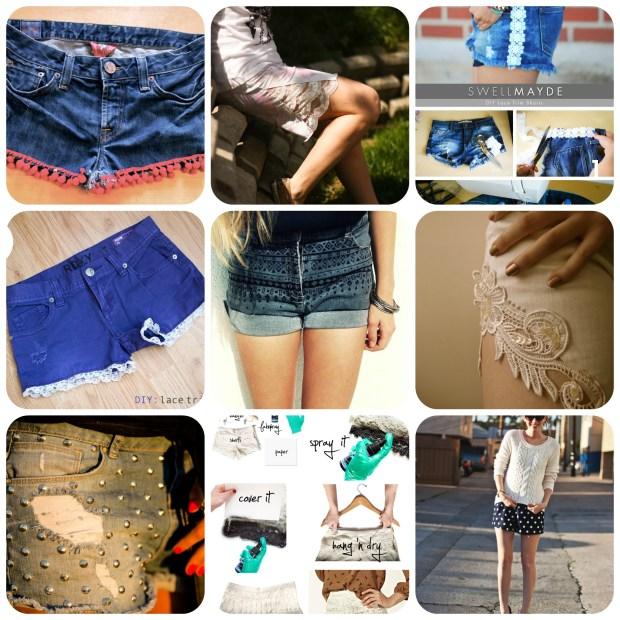 9 DIY Summer Fun Shorts