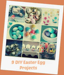 9 DIY Easter Egg Projects {Roundup}