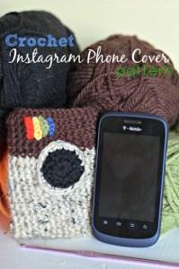 Crochet Instagram Phone Cover Pattern