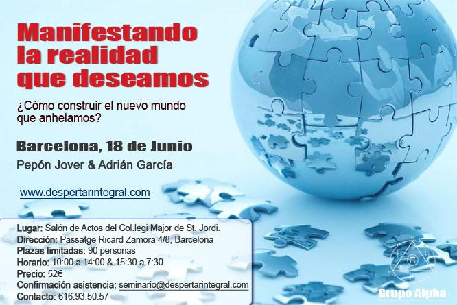 Seminario 18 de Junio Barcelona Pepón Jover & Adrián García