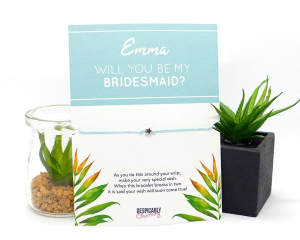 Bridesmaid proposal
