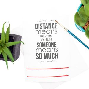 Distance bracelets for couples