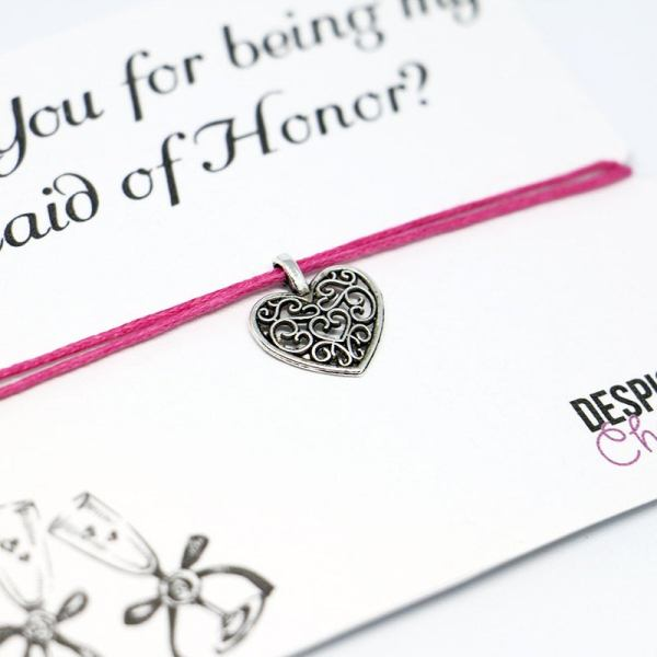 Maid of Honor Bracelet - Maid of Honor Gift