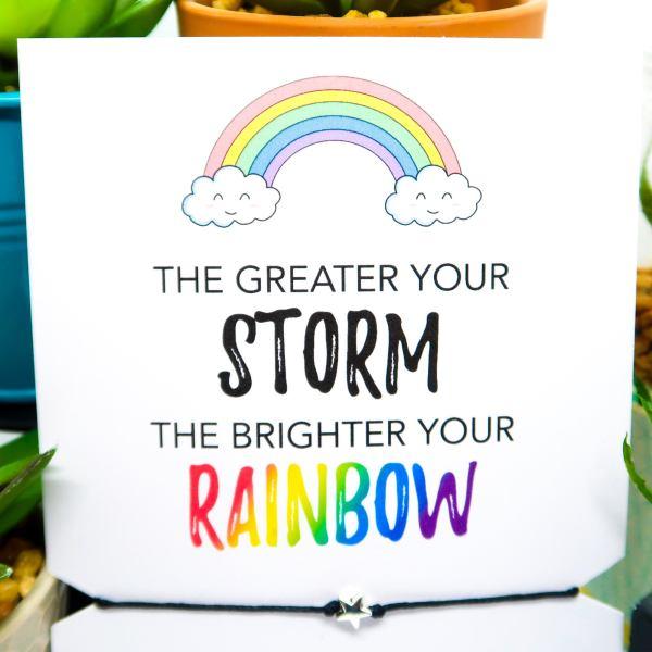 Rainbow Wish Bracelet