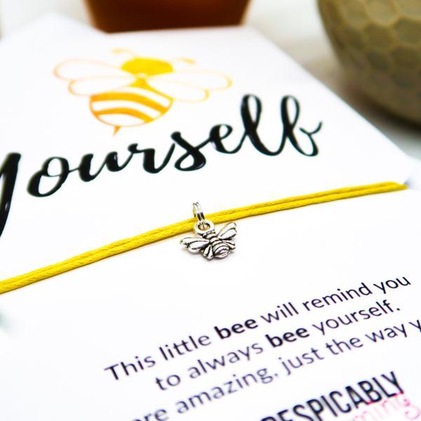 Bee Yourself Wish Bracelet