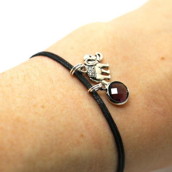 Birthstone crystal charm add on - personalised jewellery