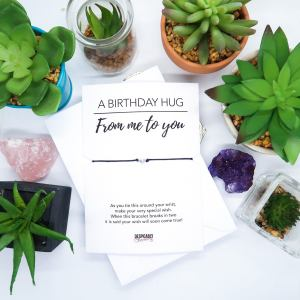 Happy Birthday Personalised Wish Bracelet