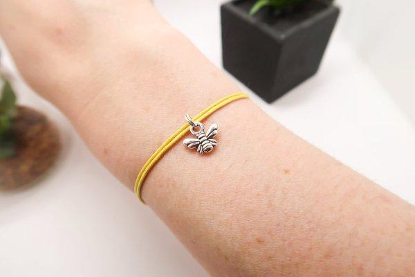 Be Safe Bee Wish Bracelet