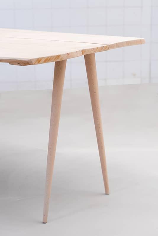 Pieds Compas Pour Meuble Design En Bois Style Scandinave
