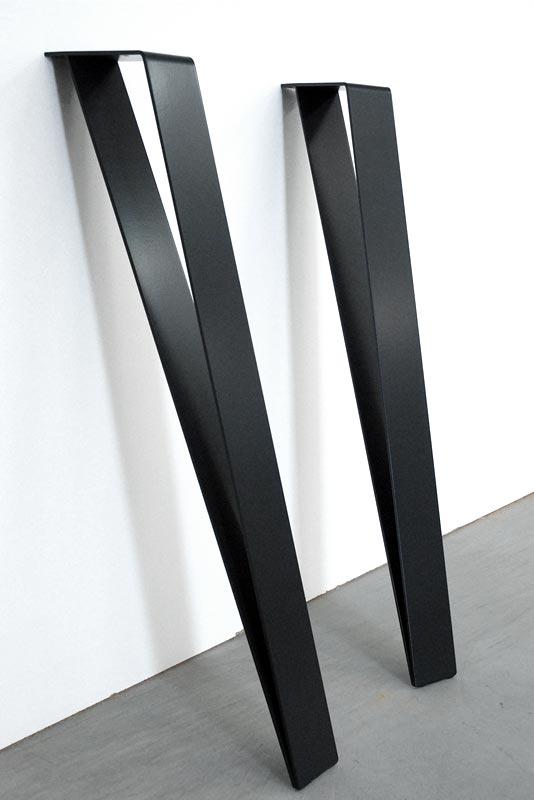 Pied Metal Noir Design Dpsmt Grafk Fabricant De Pieds