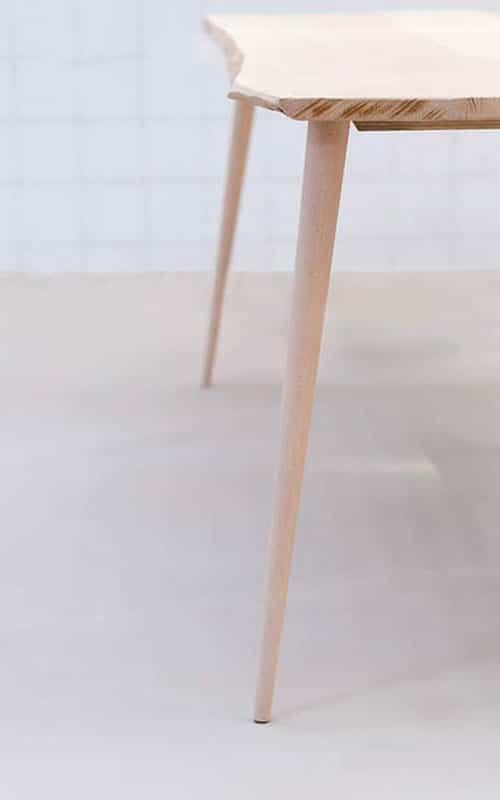 Pieds De Table En Bois Pour Meuble Design Style Scandinave Ikea Diy