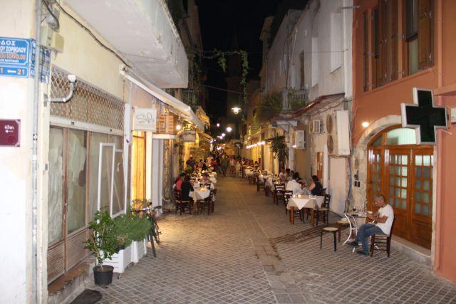 Chania nightlife- Chatzimichali Daliani Street