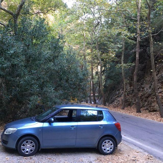Inside Therisso Gorge- Φαράγγι Θερίσου