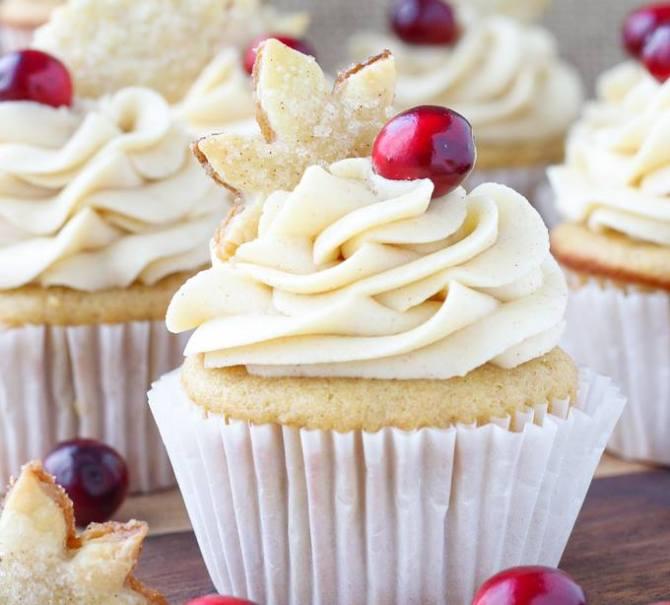 recette cupcake caneberges cidre pomme