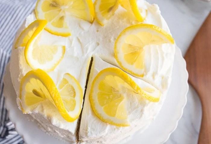Lemon Cake Recipe Small Lemon Cake For Two Dessert For Two