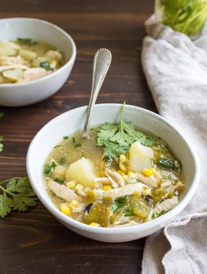 Green Chile Chicken Stew - Hatch Green Chile Recipes