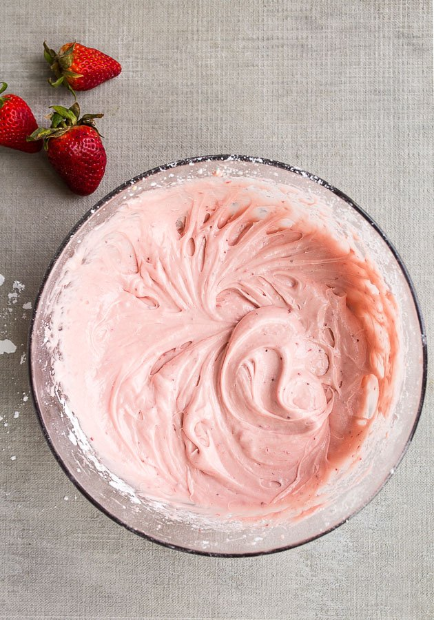 Strawberry Cream Cheese For Two