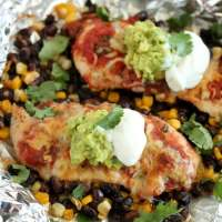 Southwestern Chicken Packets (+ Video!)