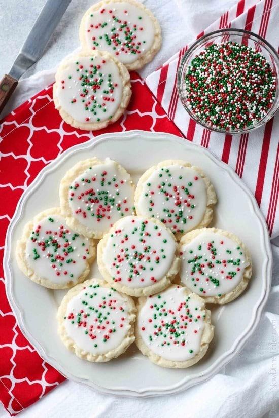 Christmas Meltaway Cookies Video Dessert Now Dinner