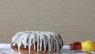 Desserts Required - Lemon Raspberry Cake