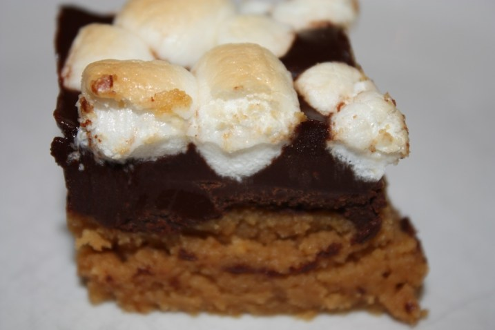 Peanut Butter S'more Bars
