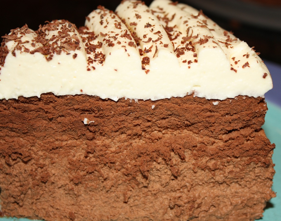 Triple Mousse Cake is a delicious cake made of chocolate mousse, mocha mousse and white chocolate mousse. A showstopper dessert you have to make!