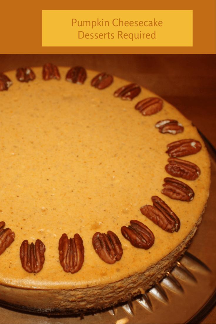 Desserts Required - Pumpkin Cheesecake