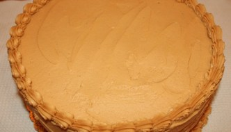 Desserts Required - Chocolate Cake with Peanut Butter Frosting