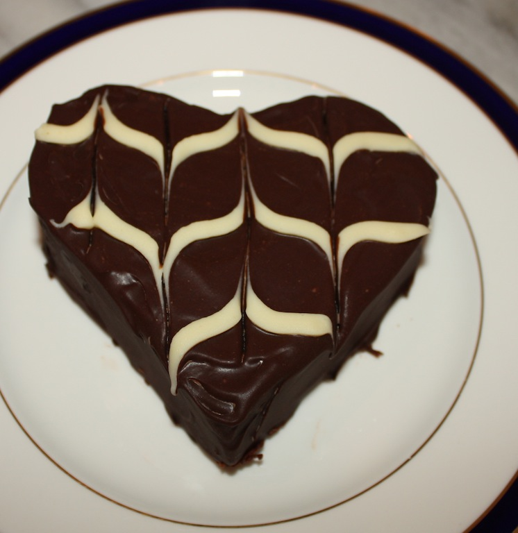 Desserts Required - Chocolate Heart Cakes