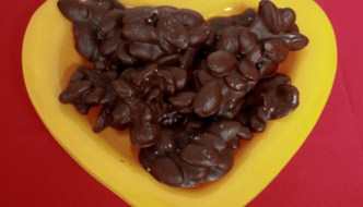 Chocolate Covered Almonds (and Cherries)