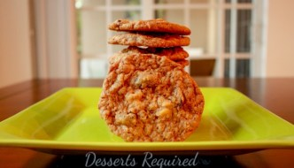Desserts Required - Cherry-White Chocolate-Oatmeal Cookies