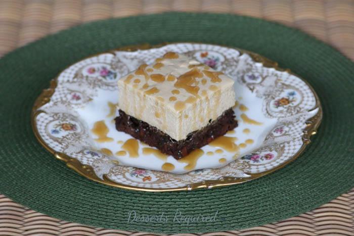 Desserts Required - Caramel Macchiato Brownies
