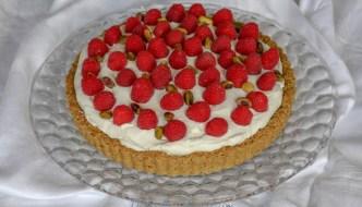 Desserts Required - Raspberry Citrus Pistachio Tart