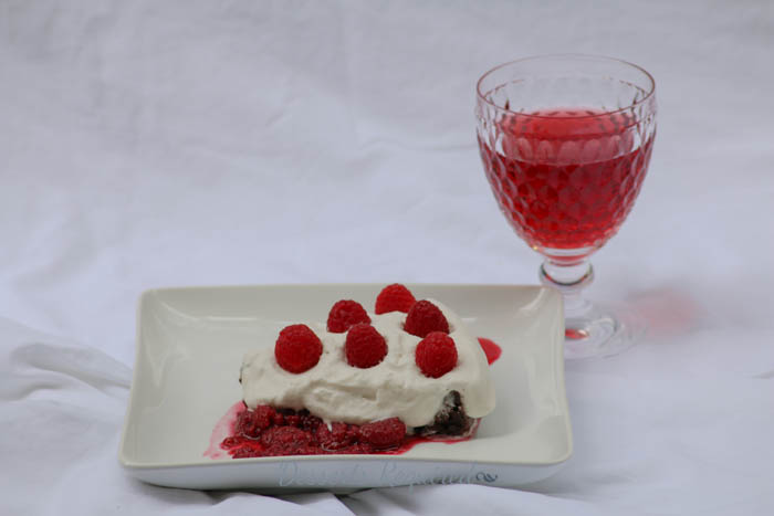 Desserts Required - chocolate decadence with cafe zinfandel
