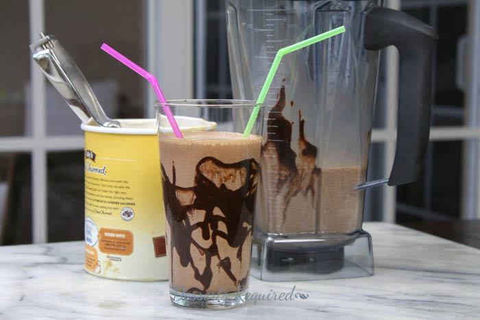 Mocha Madness Milkshake is icy cold, creamy and delicious…perfect for summer chillin' or any time of the year! Easy, quick recipe, too.