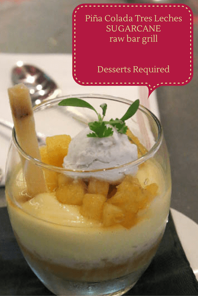Desserts Required - SUGARCANE raw bar grill