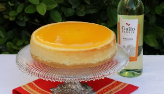 Orange Creamsicle Cheesecake  #SundaySupper