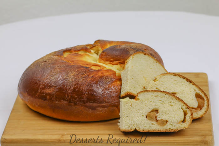 Desserts Required - Apple Challah