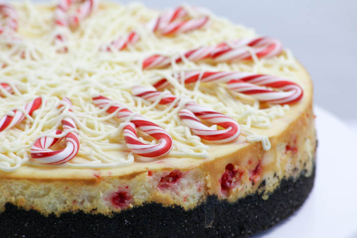 Desserts Required - White Chocolate Peppermint Cheesecake