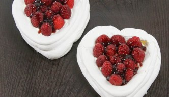 Desserts Required - Raspberry Meringue Hearts