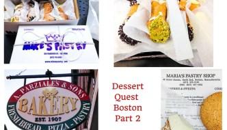 Dessert Quest Boston part 2 of 2