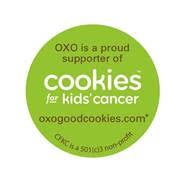 OXO Cookies for kids' cancer 2015 logo