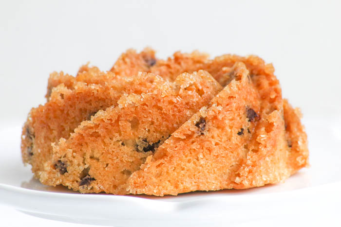 Mini Chocolate Chip Coffee Cakes are simple to bake and yummy in taste. Perfect for those who want comfort food with pizzazz.