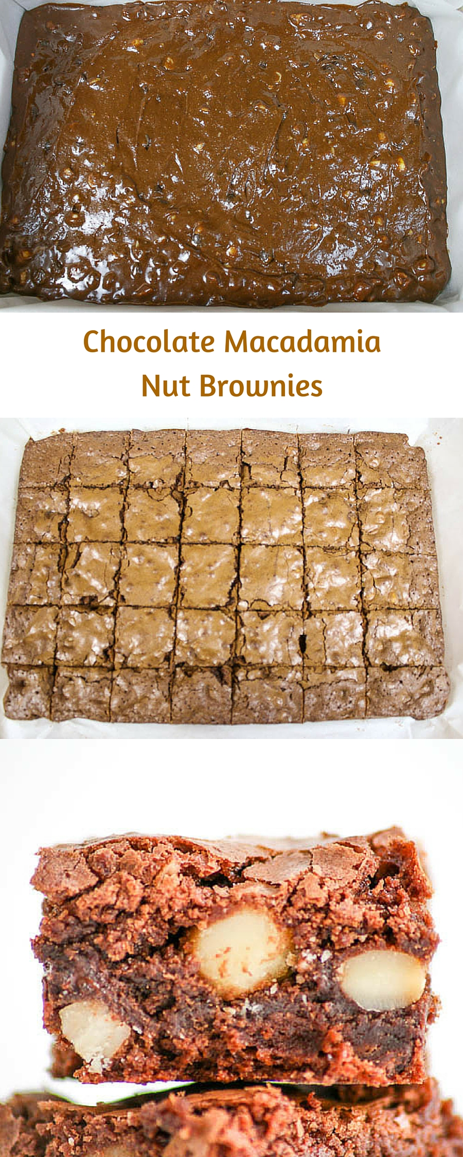 Chocolate Macadamia Nut Brownies are irresistable. The flavor is intensified by toasting the nuts before adding them into the batter. An easy recipe, too!