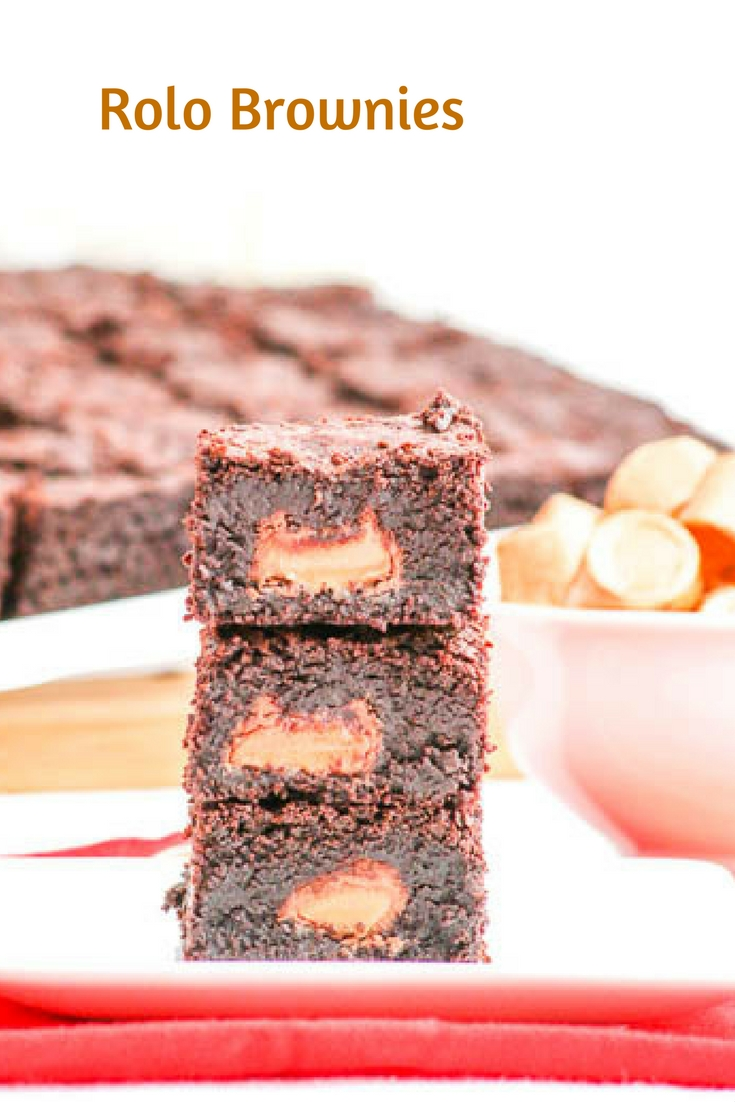 Rolo Brownies combine two irresistible flavors; caramel and chocolate. With over 48 candies, everyone is certain to get a candy in each bar.