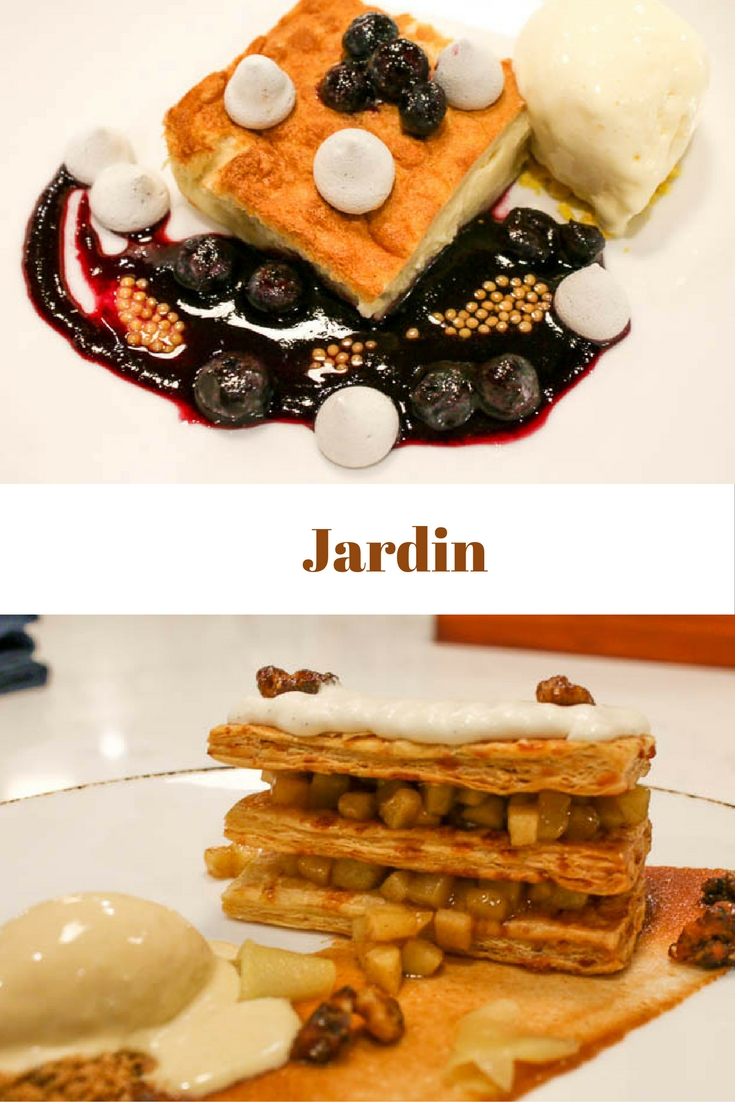 Jardin Restaurant in West Palm Beach is one you have to try. The food is wonderful and the desserts are outstanding. A gem to be treasured!